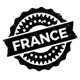 France rubber stamp Stock Photos