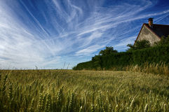 France rural Imagem de Stock Royalty Free