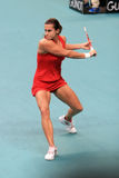 France 's Amelie Mauresmo at Open GDF SUEZ 2009 Royalty Free Stock Photo