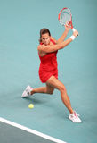 France 's Amelie Mauresmo at Open GDF SUEZ 2009 Royalty Free Stock Images