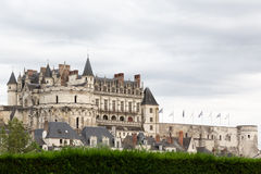 France's Chateau d'Amboise Royalty Free Stock Images