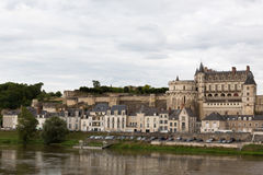 France's Chateau d'Amboise Stock Images