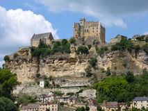 France's Chateau de Beynac Stock Photos