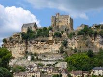 France's Chateau de Beynac Stock Photos