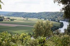 France's Dordogne River Stock Photo