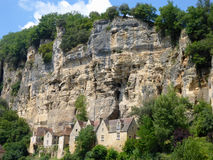 France's La Roque-Gageac Stock Photography