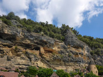 France's La Roque-Gageac Royalty Free Stock Photos