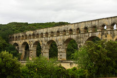 France's Pont du Gard Royalty Free Stock Photos