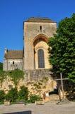 France, Saint Amand de Coly church in Dordogne Stock Photos