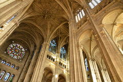 France, saint Eustache church in Paris Royalty Free Stock Photography