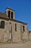 France, the Saint Severin church of Oinville sur Montcient Stock Photo