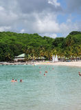 France, Sainte Anne in Guadeloupe Royalty Free Stock Photography
