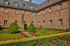France, Sainte Odile monastery in Ottrott Stock Photo