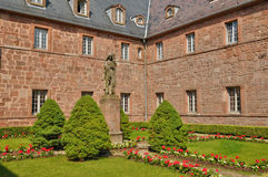 France, Sainte Odile monastery in Ottrott Royalty Free Stock Photos