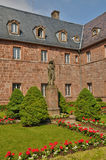 France, Sainte Odile monastery in Ottrott Royalty Free Stock Photography