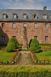 France, Sainte Odile monastery in Ottrott Royalty Free Stock Image
