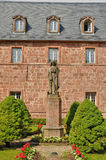 France, Sainte Odile monastery in Ottrott Royalty Free Stock Photo