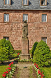 France, Sainte Odile monastery in Ottrott in Alsace Royalty Free Stock Image