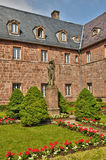 France, Sainte Odile monastery in Ottrott in Alsace Stock Photo