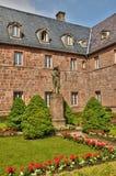 France, Sainte Odile monastery in Ottrott in Alsace Stock Photo