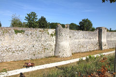 France, Seine et Marne, Provins listed as World Heritage by UNES. CO Royalty Free Stock Image