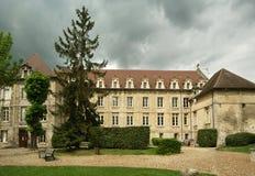 France, senlis, abadia de Vincent de Saint Fotografia de Stock