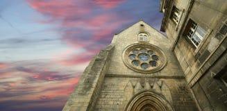 France, senlis,- Saint Vincent Abbey Royalty Free Stock Photography