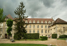 France, senlis,Saint Vincent Abbey Stock Photography