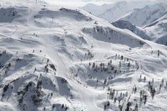 France ski area Royalty Free Stock Photos