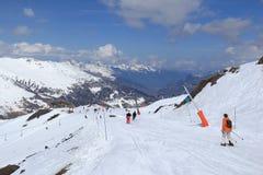 France ski resort Royalty Free Stock Photo