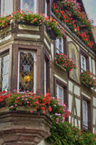 France,  small village of Kaysersberg in Alsace Stock Photography