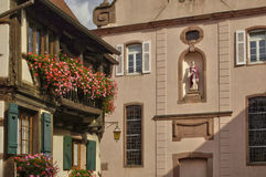 France,  small village of Kaysersberg in Alsace Stock Photo