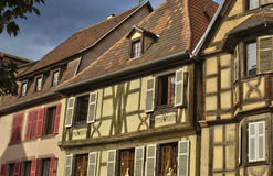 France,  small village of Kaysersberg in Alsace Royalty Free Stock Photography