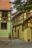 France,  small village of Kaysersberg in Alsace Royalty Free Stock Image