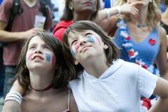 France Soccer Fan Stock Image