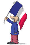 France soccer fan Royalty Free Stock Photos