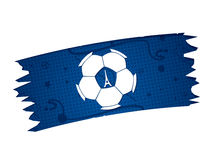 France Soccer / Football Background. Royalty Free Stock Image