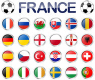 France soccer game national teams Stock Image