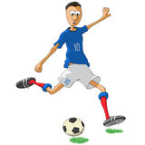 France soccer player Royalty Free Stock Photos