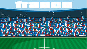 France soccer stadium Royalty Free Stock Photography