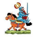 France  song knight duke army horse Stock Photo