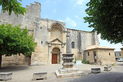 France - St Restitut Stock Photo