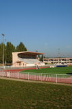 France, the stadium of Les Mureaux Stock Images