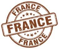 France stamp. France round grunge stamp isolated on white background. France stock illustration