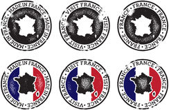 France Stamps for Trade and Tourism Royalty Free Stock Photos