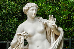 France, statue in Domes Grove in the park of  Versailles Palace Stock Photo
