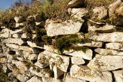 france stenvägg Royaltyfri Fotografi