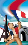 France Symbol Royalty Free Stock Photography