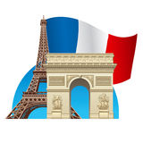France symbol Royalty Free Stock Image