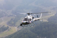 France Television's helicopter Royalty Free Stock Image
